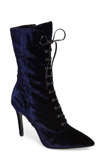 Charles David Loretta Pointy Toe Bootie Blue