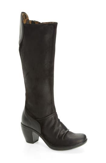 Fly London Hean Knee High Boot - Black