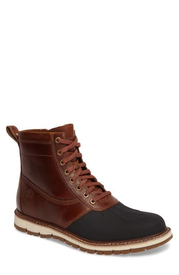 Men's Timberland 'Britton Hill' Moc Toe Boot, Size 7 M - Brown