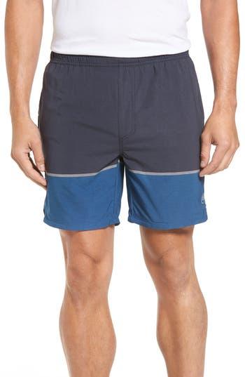 Travis Mathew Trailhead Shorts, Blue