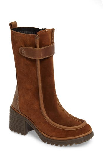 Fly London Woof Boot - Brown