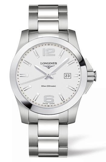 Longines Conquest Bracelet Watch, 41Mm