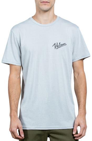 Volcom Kurrent Logo Graphic T-Shirt, White