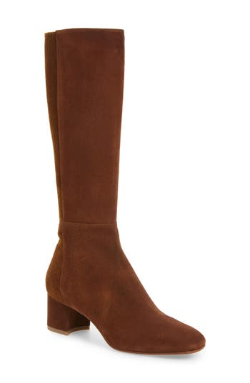 Aquatalia Jules Tall Weatherproof Boot- Brown