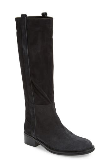 Alberto Fermani Palmira Knee High Boot- Black