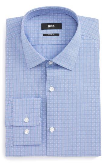 Men's Big & Tall Boss Marley Sharp Fit Check Dress Shirt