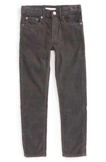 Boys Burberry Corduroy Skinny Pants