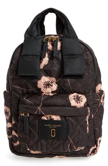 marc jacobs female marc jacobs small violet vines knot backpack