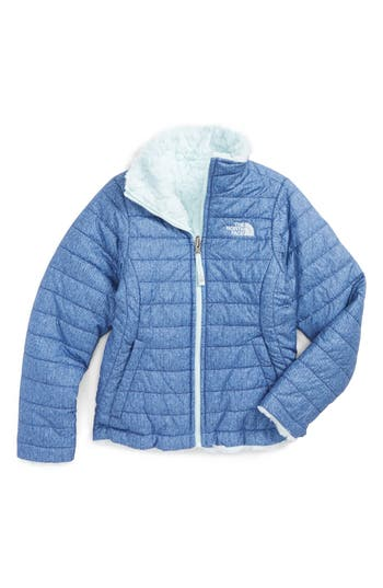 Girl's The North Face Mossbud Reversible Heatseeker™ Wind Resistant Jacket