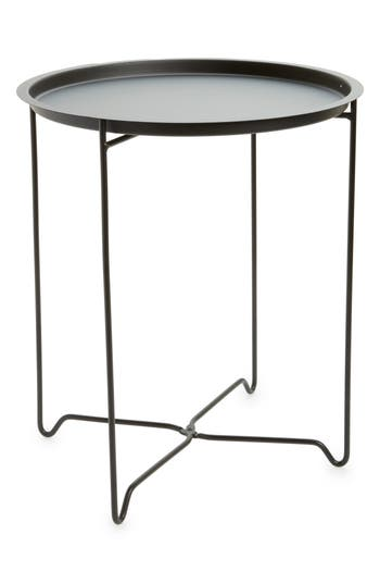 Bovi Home Foldable Accent Table, Size One Size - Black