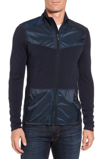 Smartwool 250 Sport Merino Wool Zip Jacket, Blue
