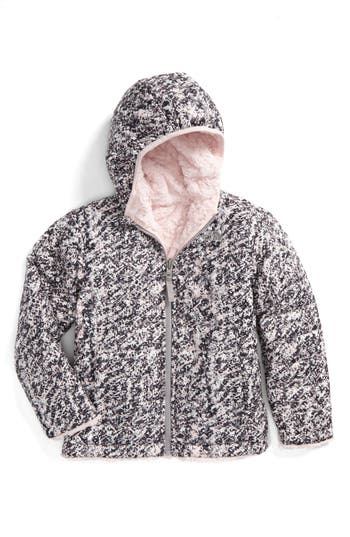Toddler Girl's The North Face Mossbud Swirl Reversible Water Repellent Jacket