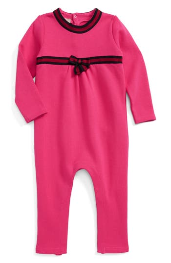 Infant Girls Gucci Knit Romper