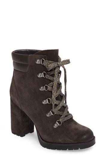 Sam Edelman Carolena Lace-Up Boot, Grey