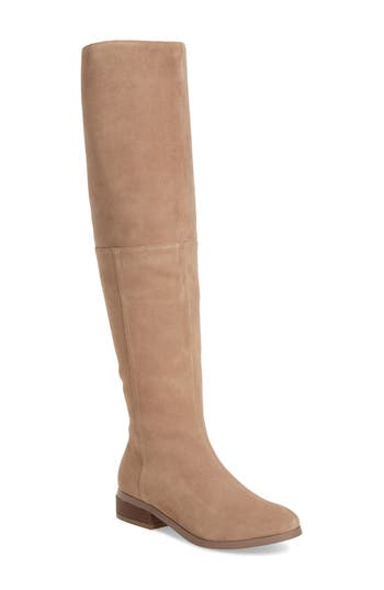 Sole Society Sonoma Over The Knee Boot- Brown