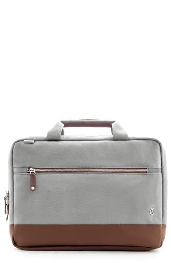 Vessel Refined Briefcase - Grey