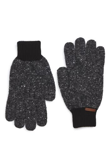 Ted Baker London Oakglo Wool Blend Gloves, Size One Size - Grey