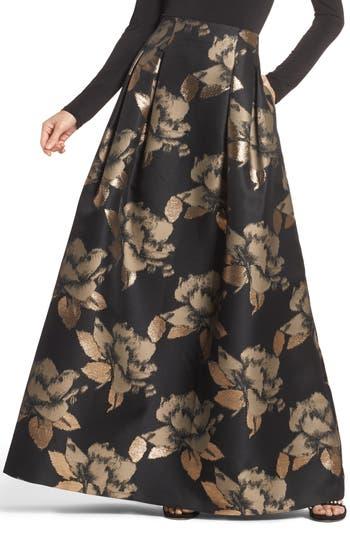 Eliza J High Waist Ball Skirt, Black