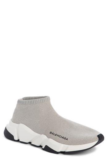 Balenciaga Low Speed Sneaker, Grey