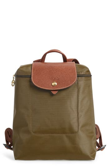 Longchamp 'Le Pliage' Backpack - Brown at NORDSTROM.com