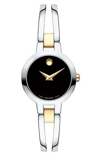 Women's Movado Amorosa Bangle Watch, 24Mm