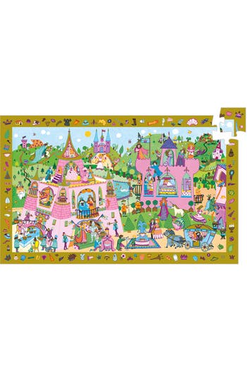 Girl's Djeco Observation Puzzles Princess 54-Piece Puzzle