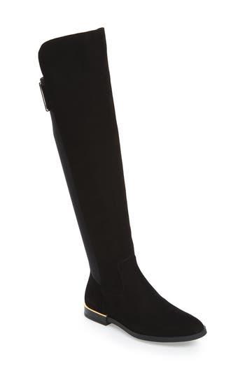 Calvin Klein Priya Over The Knee Boot- Black