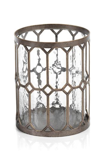 Zodax Loire Hurricane Candle Holder, Size One Size - Metallic