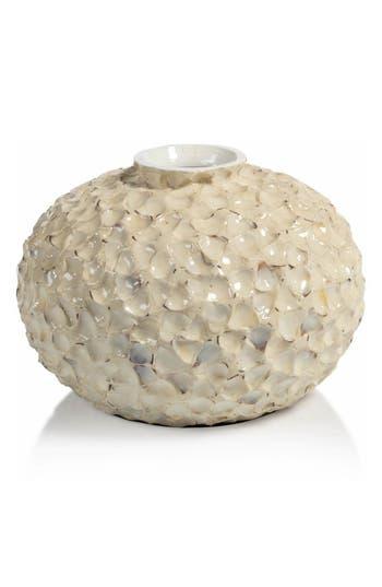 Zodax Crozet Ceramic Vase, Size One Size - Beige