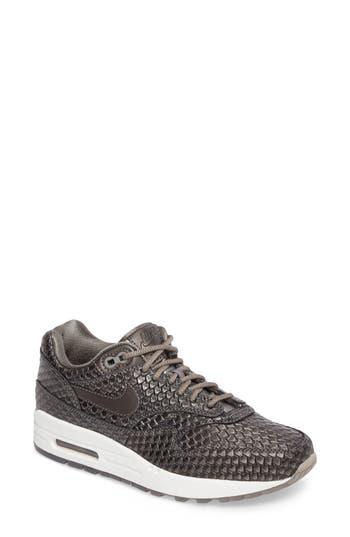 Nike Air Max 1 Premium Sneaker- Grey