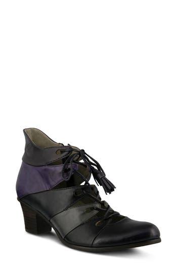 Spring Step Estrela Ghillie Bootie - Purple