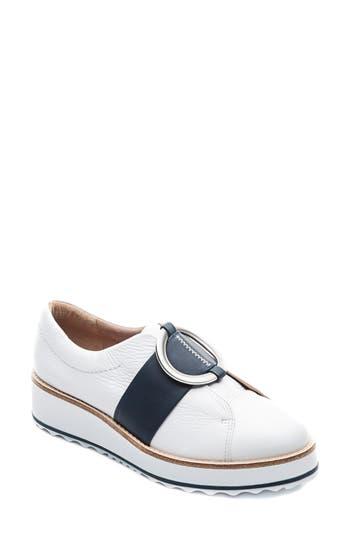 Bernardo Footwear Susan Wedge Sneaker, White