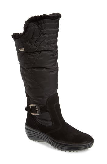 Pajar Natasha Faux Fur Lined Waterproof Boot, Black
