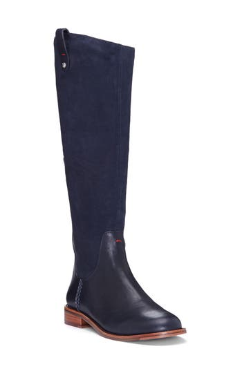 Women's Ed Ellen Degeneres 'Zoila' Riding Boot, Size 5 M - Blue