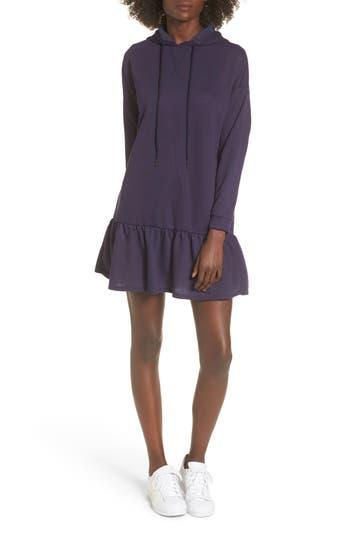 Bp. Drop Waist Sweatshirt Dress, Blue