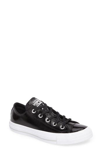 Converse Chuck Taylor All Star Seasonal Ox Low Top Sneaker, Black
