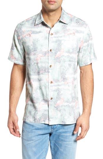 e4c80c2e UPC 719260005730 product image for Men's Tommy Bahama Flamingo Fade Camp  Shirt, ...