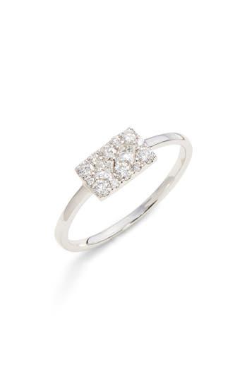 Bony Levy Mika Cushion Diamond Stacking Ring
