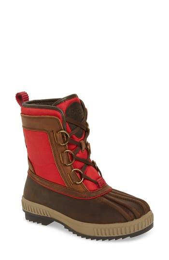 Pajar Kai Waterproof Insulated Winter Duck Boot, Brown