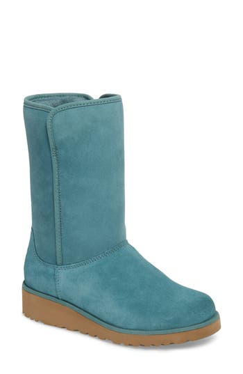 Ugg Amie - Classic Slim(TM) Water Resistant Short Boot, Green