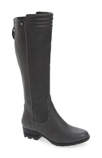 Sorel Danica Waterproof Knee High Boot- Grey