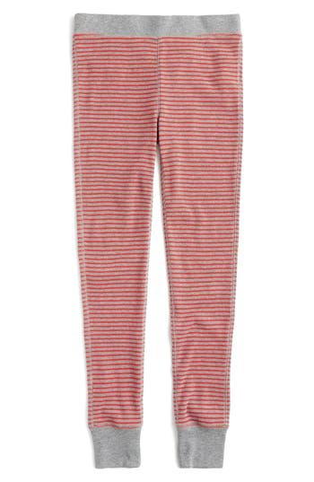 J.crew Waffle Knit Leggings, Red