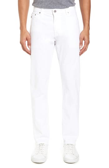 Image of Men's Big & Tall Ag Everett Sud Slim Straight Fit Pants, Size 36 x 36 - White