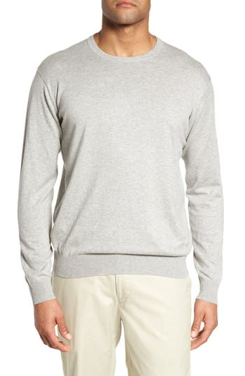 Peter Millar Crown Soft Cotton & Silk Sweater