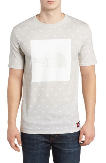 The North Face International Collection Star Print T-Shirt, Grey