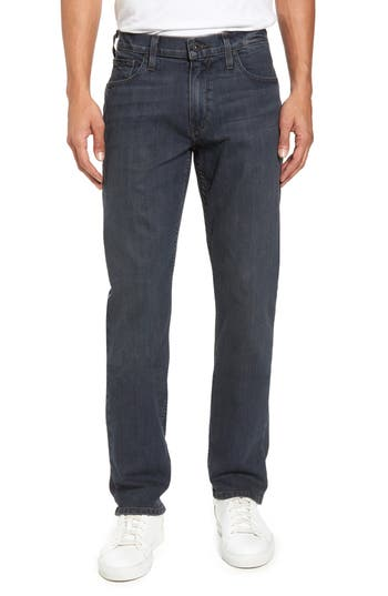 Paige Legacy - Federal Slim Straight Leg Jeans, Blue