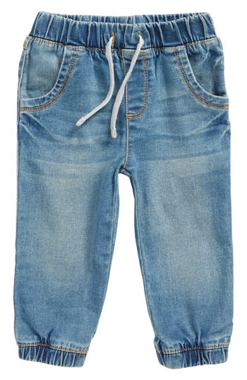 Infant Boys Tucker  Tate Stretch Denim Jogger Pants