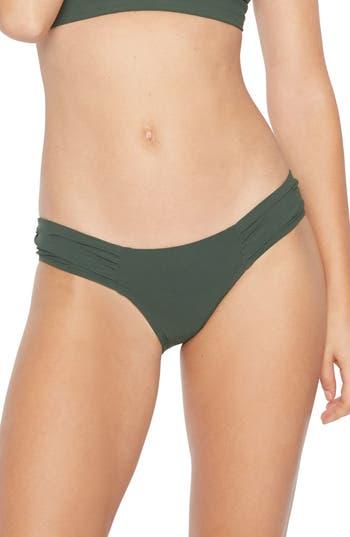 Robin Piccone Ava Bikini Bottoms, Green