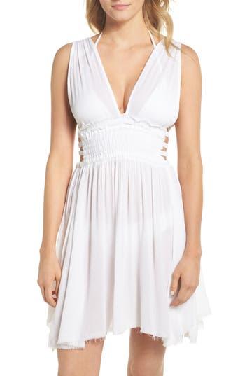 Elan Goddess Cover-Up Dress, White