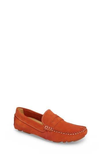 Boys Tucker  Tate Matteo Moccasin Size 3.5US  35EU  Orange